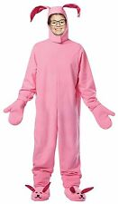 Christmas Story CHILD BUNNY SUIT Costume Pink Pajamas Ralphie Rabbit NEW