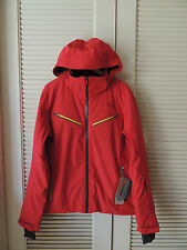 NORTH FACE RAGE RED HIDAKA INSULATED HOODED SNOW SPORT JACKET, MENS M ~NWT