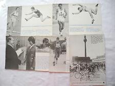 Giornale muro Coppa del Mondo 1970 DDR Ostalgie soffitta Fund SPORT MEDAGLIA RUOTA