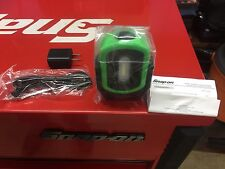 snap on GREEN Magnétic led work light. Rechargeable Adjustable.