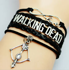 THE WALKING DEAD Bracelet Wax rope Hand Knitting Bracelet Cool Bracelet ZYC