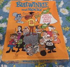 Unplayed BULLWINKLE AND ROCKY ROLE PLAYING PARTY GAME TSR 1988 VINTAGE RPG