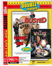 Busted-1996-Corey Feldman/The Willies-1991-Sean Austin- Movie-DVD