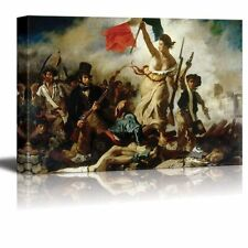 """Liberty Leading The People by Eugene Delacroix Giclee Canvas Prints- 24"""" x 36"""""""