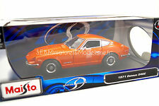 DATSUN 240Z ORANGE 1971 1/18 Maisto SE16SP