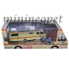GREENLIGHT 51063 BREAKING BAD 1986 FLEETWOOD BOUNDER RV 1/64 w 2 FIGURES CHASE
