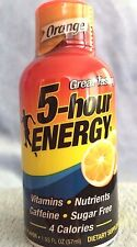 Orange Flavor 5 Hour Energy, 24 Packs (2 12-Packs), 1.93 oz/Pk, Free Shipping