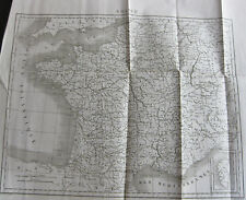 1830 Carte Atlas Géographique Carte de la France