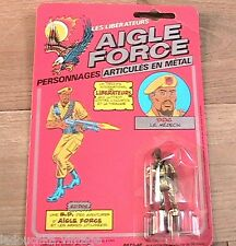 EAGLE FORCE BIG BRO 1980s DIE-CAST METAL ACTION FIGURE TOY -FRENCH VERSION - NEW