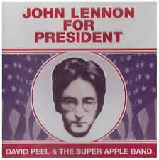 John Lennon For President - David & Apple Band Peel (1995, CD NEUF)