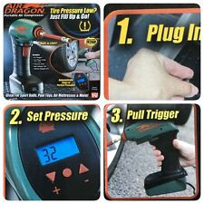 Air Dragon Handheld Portable Air Compressor Auto Tire Inflator Pump With LED