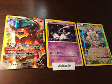 Magearna XY186 + Volcanion XY185 + Mew XY192 - Mythical Collection - Full Art