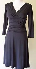 Max and Cleo LBD 3/4 Sleeve stretch polyester Knit Dress Size XS
