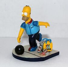 "THE SIMPSONS HAMILTON BOWLING STATUE MISADVENTURES OF HOMER ""SPARE ME"""