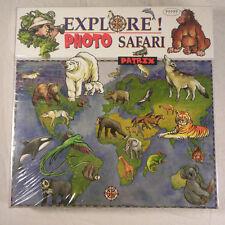 Explore Photo Safari - Patrix Educational Board Game - Find Animals of the World