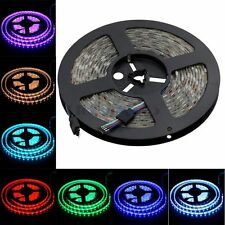 16.4ft 12V 300 LED Strip Lights SMD 5050 RGB Changing Color Waterproof 5M Tapes
