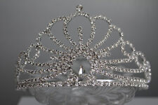 Girl/Women's Bridal Wedding Princess Tiara Quinceanera Rhinestone Crown Clear