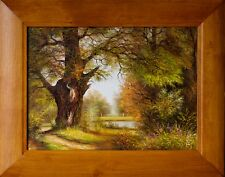 L Mikhayevich Listed Lithuanian Russian OLD TREE , oil painting