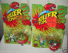 #9112 Attack of the Killer Tomatoes Mattel 2 Figures & Applause 3 Figures