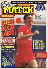 IAN RUSH LIVERPOOL / BRIAN McCLAIR CELTIC Match May 2 1987