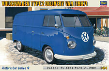 Hasegawa HC-09 Volkswagen Type 2 Deliver Van 1967 1/24 scale kit (not painted)