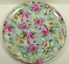 "VTG Norcrest FIne Porcelain China Cottage Pink Rose Large Plate 10.25"" B78"