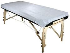 Poly-Backing Disposable Table Sheet (Pack of 10) for Massage Table CTAS01