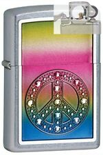 Zippo 24898 peace for all Lighter with PIPE INSERT PL