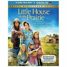 Little House on the Prairie - Season 1 (Blu-ray Disc, 2014, 5-Disc Set)
