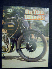 On Two Wheels No.112, Motor Cycling & Racing History Chapter 6, 1930-1934