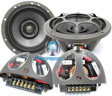 "MOREL HYBRID INTEGRA 602 6.5"" CAR 2-WAY O COMPONENT SPEAKERS CROSSOVERS MIDS NEW"