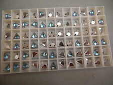 12 swarovski trillion stones,8mm vitrail light V #4722