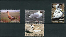 Maldives 2006 MNH Birds 4v Set Waders Gulls Godwit Kentish Plover Booby
