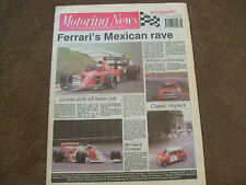Motoring News 27 June 1990 Donegal Rally Portland CART Mexican GP Eddie Cheever