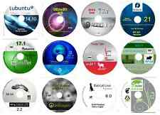Linux Collection No4 -12 Disks 64 bit inc, Ubuntu Zorin Mint OpenSuse CAE Robo +