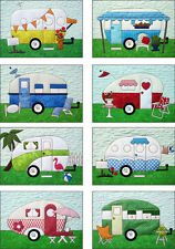 CAMPERS Quilt Pattern by Amy Bradley Designs Fusible Applique BRAND NEW!!