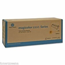 GENUINE Minolta QMS MagiColor 2200 2200DL 2210 Printer Yellow Toner 1710471-002