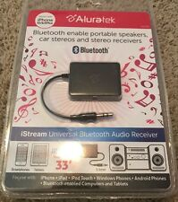 Aluratek Bluetooth Enabled iStream Audio Receiver