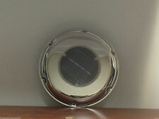 "RV MARINE BOAT STAINLESS STEEL SOLAR POWERED 8.5""O.D. 2.8""H WHITE VENTILATOR ODM"