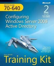 Self-Paced Training Kit (Exam 70-640) Configuring Windows Server 2008 Active Dir