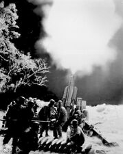 New 8x10 World War II Photo: Battery C, 90th Field Artillery in the Philippines