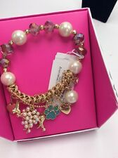$35 Betsey Johnson Pearl Dog Stretch Pearl Bracelet Gifting Collection