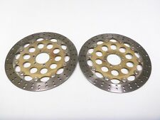 98 Moto Guzzi V11 V1100 California Front Wheel Disc Brake Rotors