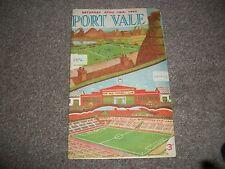 PORT VALE v BIRMINGHAM CITY  League April 16th  1954/55