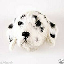 (2) DALMATION DOG MAGNETS! Very realistic collectible fur refrigerator Magnets.