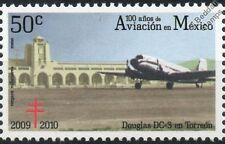 Torreon: DOUGLAS DC-3 Airliner Aircraft Stamp (100 Years of Aviation in Mexico)