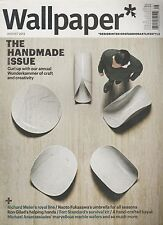 WALLPAPER MAGAZINE #173 AUG 2013, THE STUFF THAT REFINES YOU.