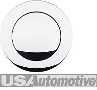 SMOOTH ALUM STEERING WHEEL HOOTER HORN BUTTON S5600C