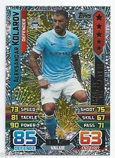 2015 / 2016 EPL Match Attax Man of the Match (385) Aleksandar KOLAROV Man C.