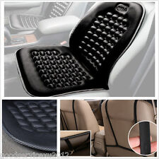 One Black Autos Interior Seat Memory Foam Massage Lumbar Mat Pad Cushion Pillow